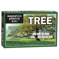 MAGNETIC POETRY TREE