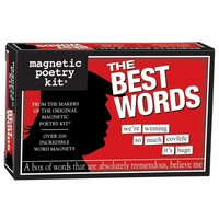 MAGNETIC POETRY THE BEST WORDS