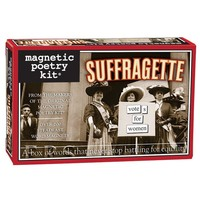 MAGNETIC POETRY SUFFRAGETTE