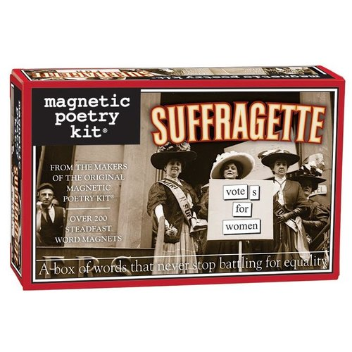 MAGNETIC POETRY MAGNETIC POETRY SUFFRAGETTE