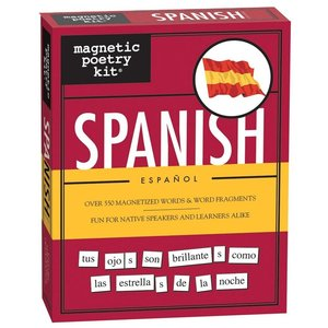 MAGNETIC POETRY MAGNETIC POETRY SPANISH