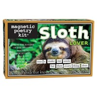 MAGNETIC POETRY SLOTH LOVER
