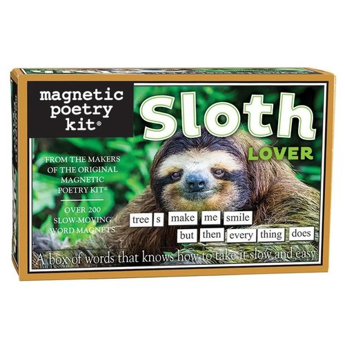 MAGNETIC POETRY MAGNETIC POETRY SLOTH LOVER
