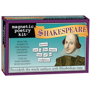 MAGNETIC POETRY MAGNETIC POETRY SHAKESPEARE