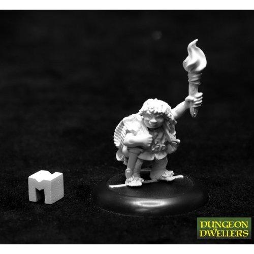 Reaper Miniatures GUS GEENWEVIL HALFLING HENCH