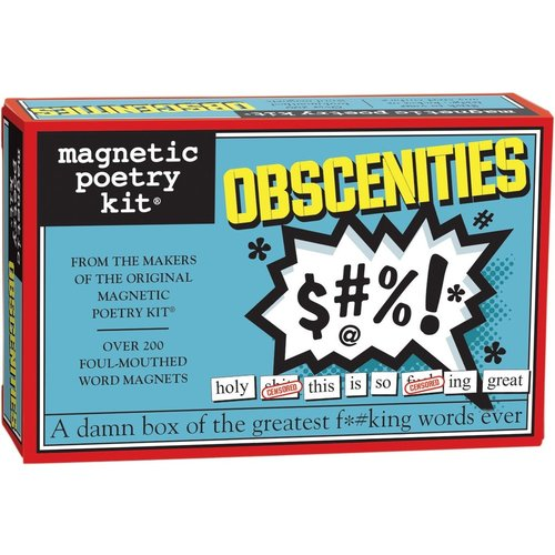 MAGNETIC POETRY MAGNETIC POETRY OBSCENITIES