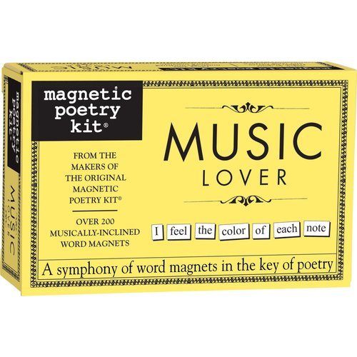 MAGNETIC POETRY MAGNETIC POETRY MUSIC LOVER