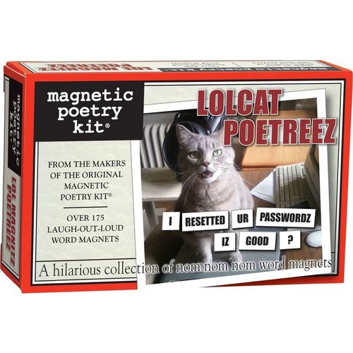 MAGNETIC POETRY MAGNETIC POETRY LOLCAT POETREEZ