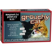 MAGNETIC POETRY GROUCHY CAT