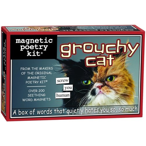 MAGNETIC POETRY MAGNETIC POETRY GROUCHY CAT