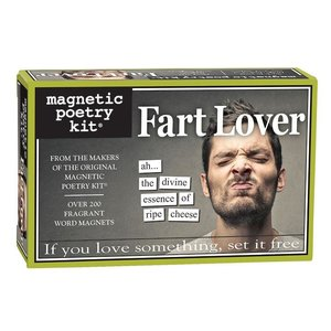 MAGNETIC POETRY MAGNETIC POETRY FART LOVER