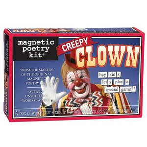 MAGNETIC POETRY MAGNETIC POETRY CREEPY CLOWN