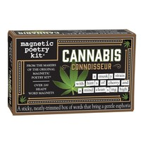 MAGNETIC POETRY CANNABIS CONNOISSEUR