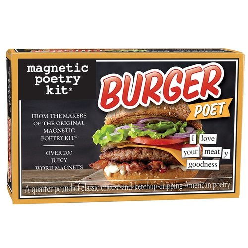 MAGNETIC POETRY MAGNETIC POETRY BURGER