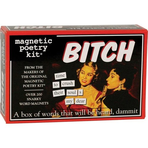 MAGNETIC POETRY MAGNETIC POETRY BITCH