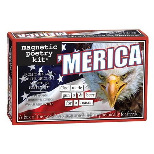 MAGNETIC POETRY MAGNETIC POETRY 'MERICA