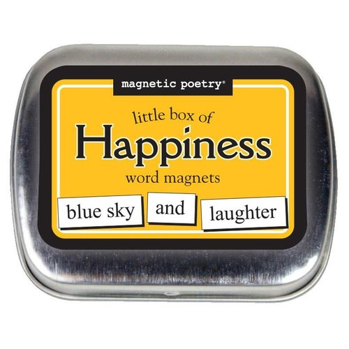 MAGNETIC POETRY MAGNETIC POETRY LITTLE BOX OF HAPPINESS