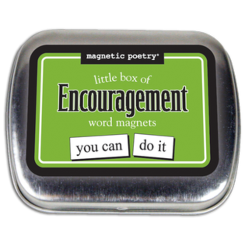 MAGNETIC POETRY MAGNETIC POETRY LITTLE BOX OF ENCOURAGEMEN