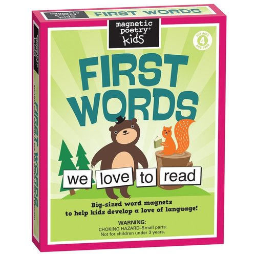 MAGNETIC POETRY MAGNETIC POETRY KIDS FIRST WORDS KIT