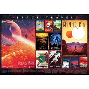 Cobble Hill CH2000 SPACE TRAVEL POSTERS
