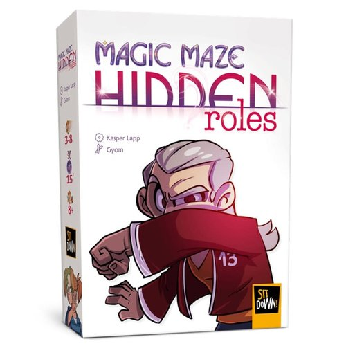 Dude Games MAGIC MAZE: HIDDEN ROLES