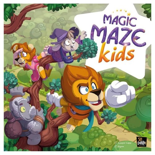Dude Games MAGIC MAZE KIDS
