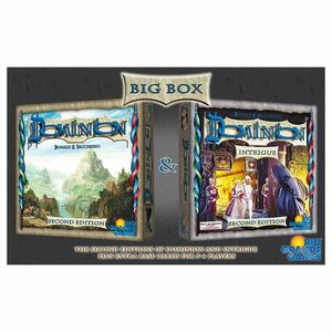 Rio Grande Games DOMINION: BIG BOX 2ND EDITION