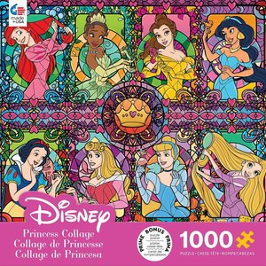 CEACO CC1000 DISNEY STAINED GLASS PRINCESSES