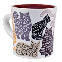 MUG: LITERARY CAT