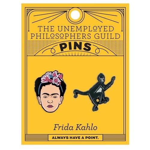 UNEMPLOYED PHILOSOPHERS PIN SET: FRIDA KAHLO
