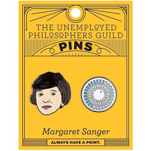UNEMPLOYED PHILOSOPHERS PIN SET: MARGARET SANGER