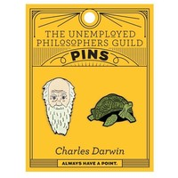 PIN: CHARLES DARWIN & TORTOISE SET