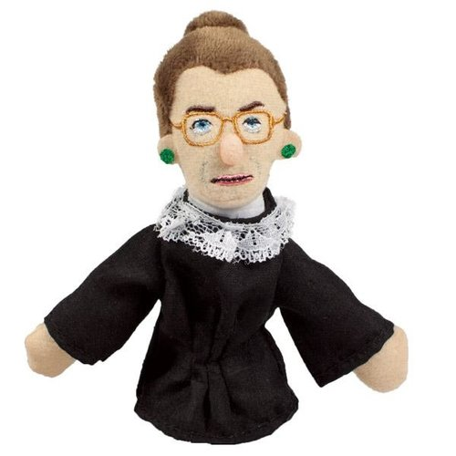 UNEMPLOYED PHILOSOPHERS RUTH BADER GINSBURG PUPPET