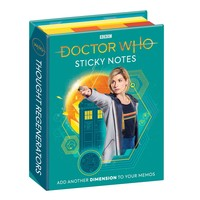 STICKY NOTES: DR WHO 13TH