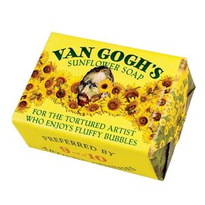 UNEMPLOYED PHILOSOPHERS VAN GOGH SUNFLOWER SOAP