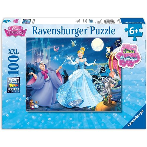 Ravensburger RV100 DISNEY ADORABLE CINDERELLA w/GLITTER
