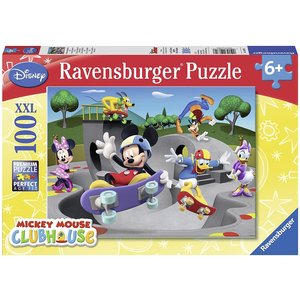 Ravensburger RV100 DISNEY MICKEY MOUSE CLUBHOUSE AT THE SKATE PARK