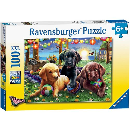 Ravensburger RV100 PUPPY PICNIC