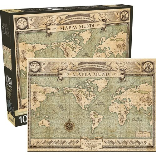 NMR DISTRIBUTION AQ1000 FANTASTIC BEASTS MAP OF THE WORLD