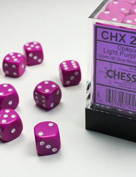 Chessex DICE SET 12mm OPAQUE LT PURPLE
