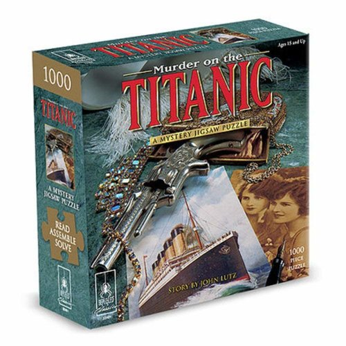 Bepuzzled UG1000 MURDER ON THE TITANIC
