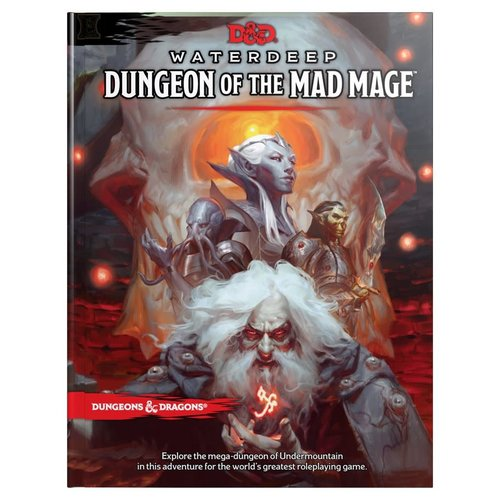 Wizards of the Coast D&D 5E: WATERDEEP - DUNGEON OF THE MAD MAGE