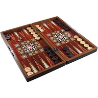 "BACKGAMMON 15"" TURKISH PLASTIC"