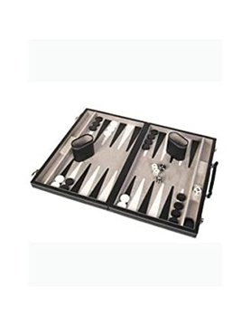 "JOHN HANSEN COMPANY BACKGAMMON 12"" BLACK"