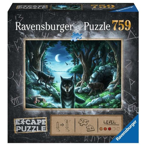 Ravensburger RV750(ESCAPE) THE CURSE OF THE WOLVES