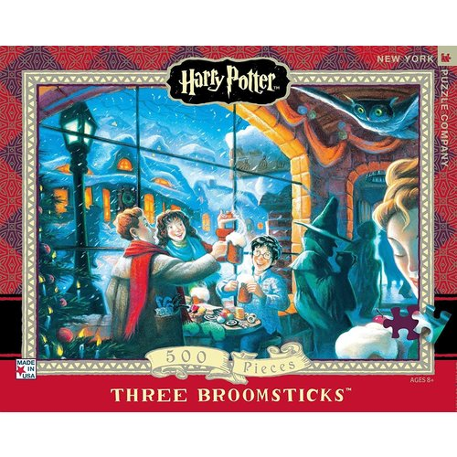 NEW YORK PUZZLE COMPANY NY100 HARRY POTTER THREE BROOMSTICKS