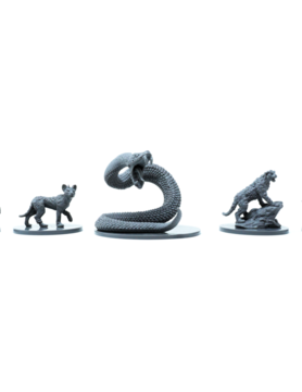 Hit Point Press MINIS: HUMBLEWOOD: BEASTS OF THE WOOD