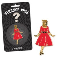 PIN: SQUIRREL IN RED DRESS