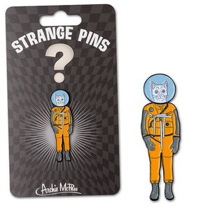 ACCOUTREMENTS PIN-CAT ASTRONAUT