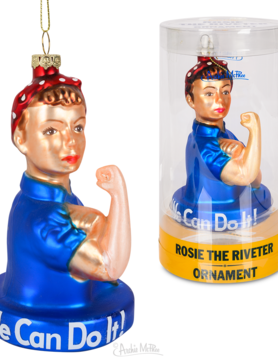 ACCOUTREMENTS ORNAMENT ROSIE THE RIVETER